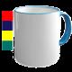 Кружка Two Tone Mug – Handle - цветная ручка и кайма