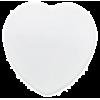 Подставка под чашку керамическая (сердце)