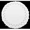 Подставка под чашку керамическая (круг)